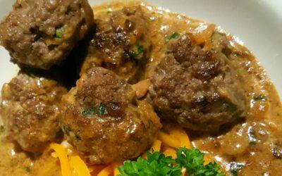 Saftiga köttbullar utan ägg