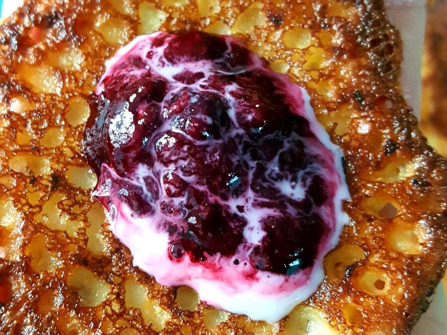 Plättar på butternutsquash utan ägg