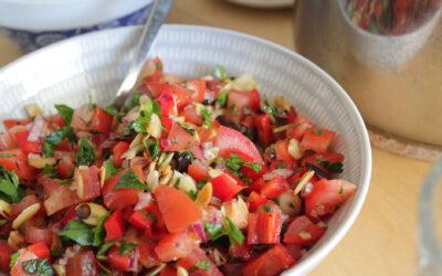 Marockansk tomatsallad