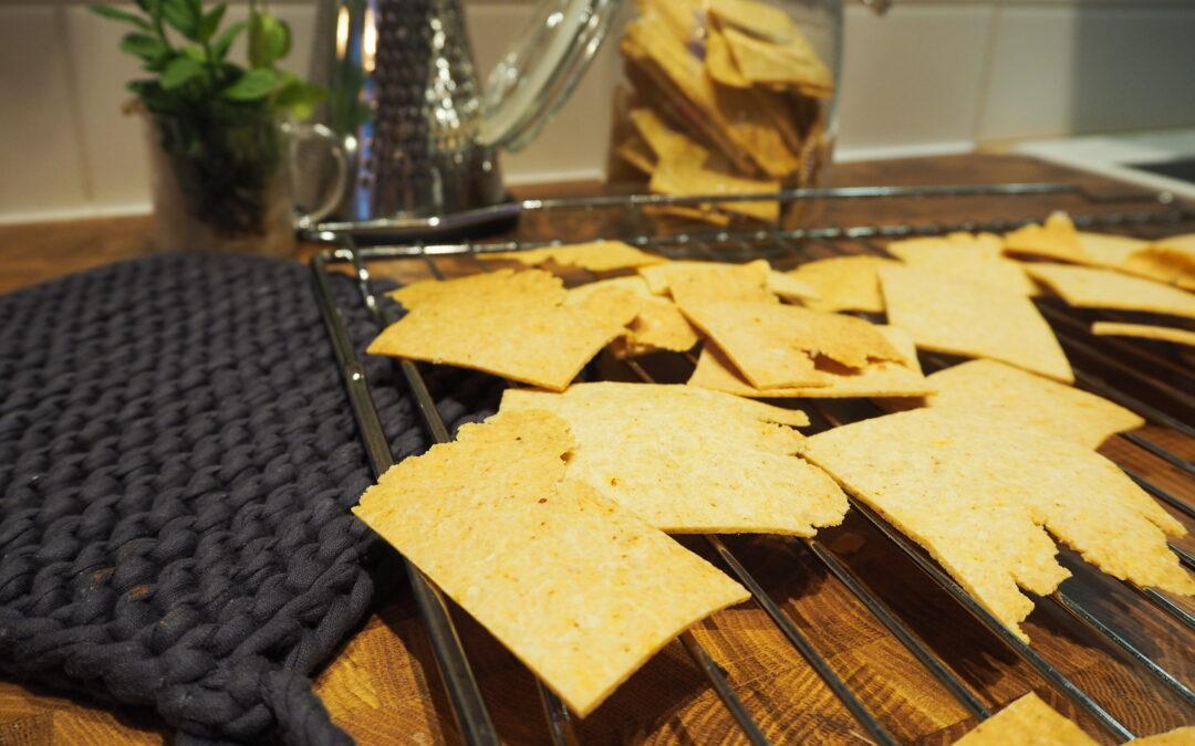 Heta taco-chips