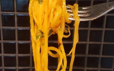 Spaghetti på butternutsquash