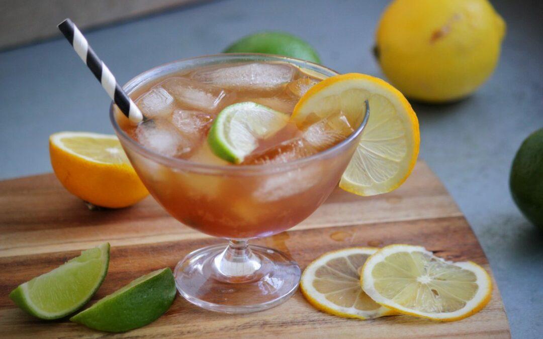 Ingefärsdricka med lime