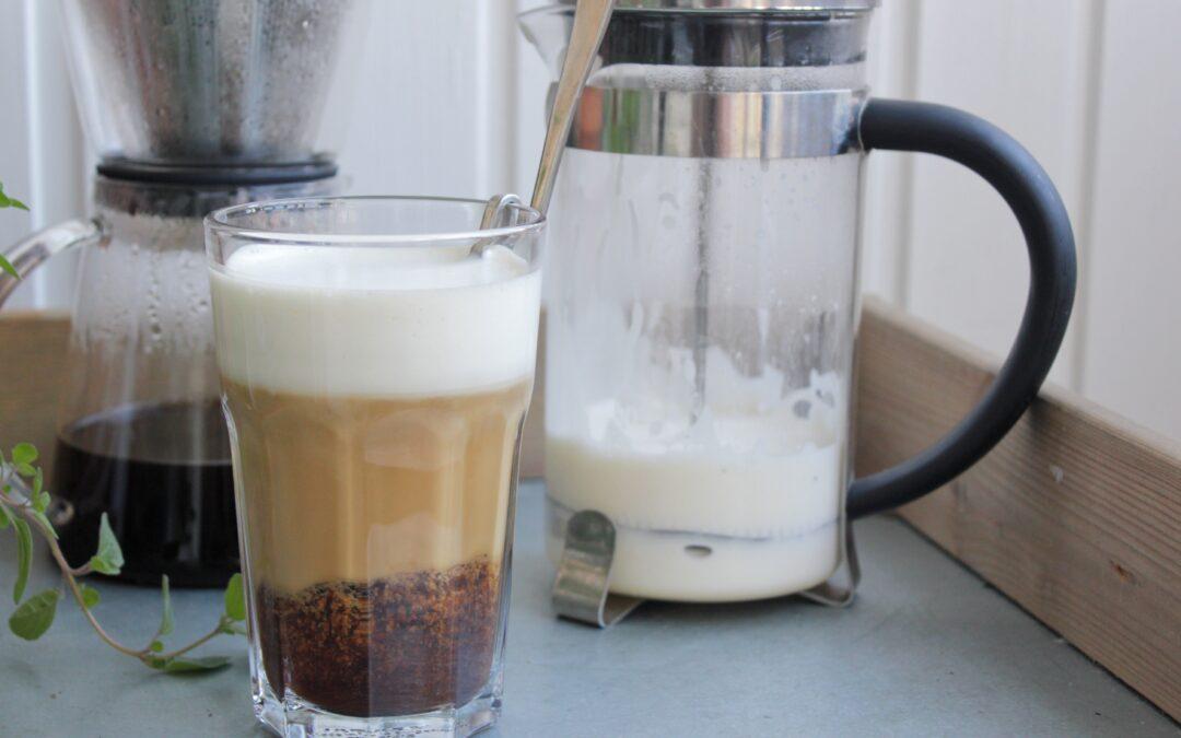 Skumma mjölk enkelt