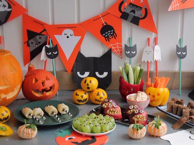 Nyttigt Halloweensnacks