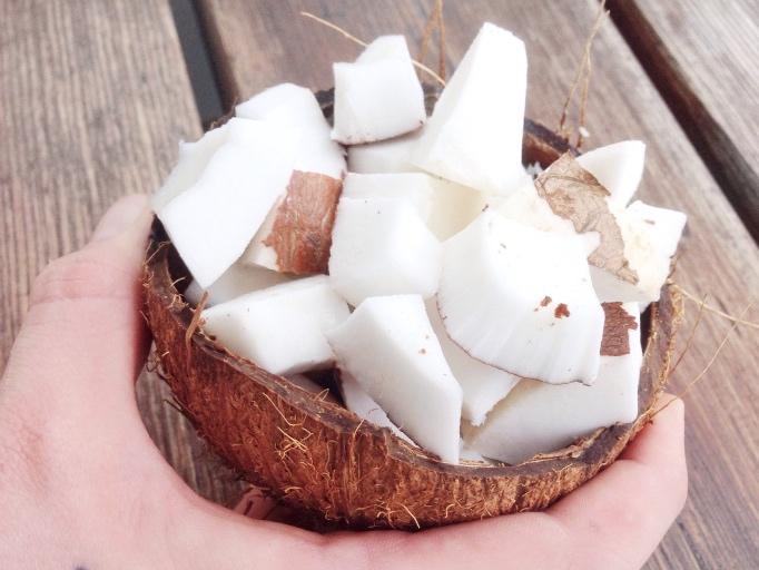 """""""Far, jag kan inte få upp min kokosnöt"""""""