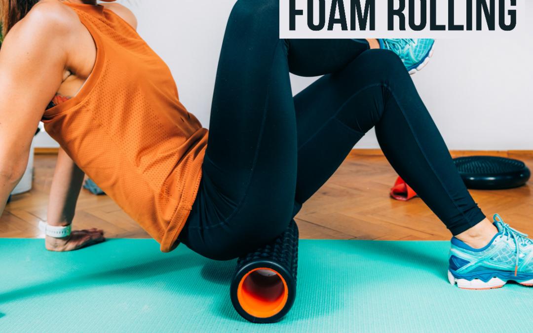 Foam rolling – för lymfan